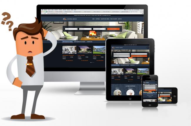 Por que minha imobiliária precisa de um site responsivo?