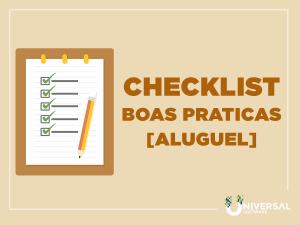 Check List Boas Práticas - Aluguel