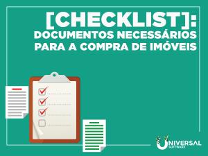 Check List Documentos Necessários Para a Compra de Imóveis