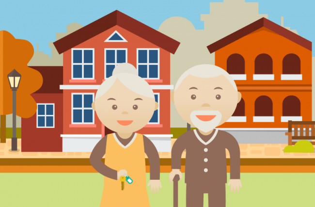 Como vender imóveis para a terceira idade?